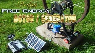 Overunity Free Energy Generator  (free energy device - Bedini Style)