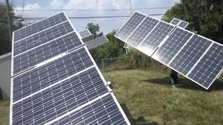 Eco- Worthy  Dual Axis Solar Tracker ground mount.
