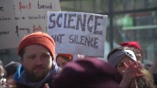 March for Science hyllar vetenskapen - Nyheterna (TV4)