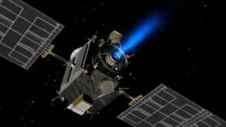 Dawn's Xenon Ion Thrusters