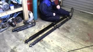 BMW E39 EV Conversion 27 Driveshaft