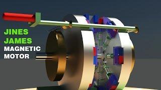Free Energy Generator, JINES JAMES Magnet Motor, Magnetic Motor!!!!!
