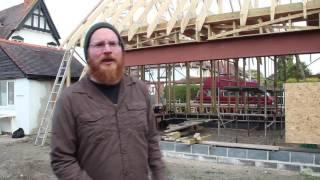 Straw Bale house in Oxforshire: part 1