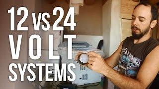 12 vs 24 Volt Solar Systems