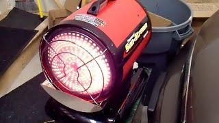 Heat your Shop or Garage without Electricity - Diesel or Kerosene Heaters and Inverters