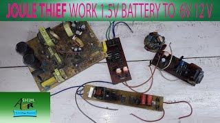 HOW TO MAKE JOULE THIEF #2