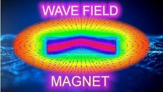 Searl effect generator replica wave field magnet