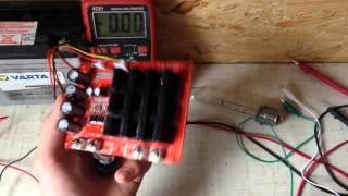 1x10-50 В 60А 3000Вт шим-управления  HHO контроллер (обзор и небольшой тест ! )