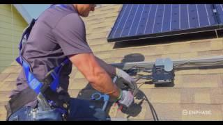 IQ 6+ Microinverter Installation - Enphase Energy - 2016