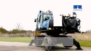Ricardo High Efficiency Excavator (HFX) with flywheel energy recovery technology