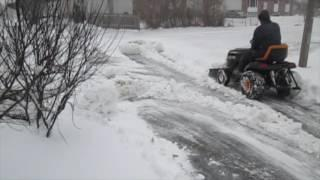 #5 The Little Electric Tractor That Can  Ploughing Snow