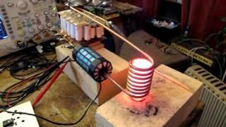 Full H-bridge driven Induction Heater