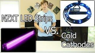 NZXT Light Strips VS. Cold Cathodes