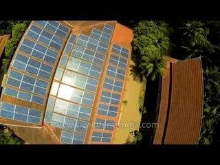Roof-top solar energy harvesting through panels in Thailand