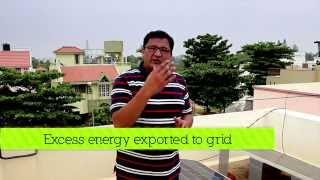 Residential Grid Connected solar rooftop PV system