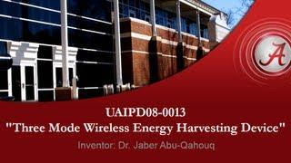 Three Mode Wireless Energy Harvesting Device