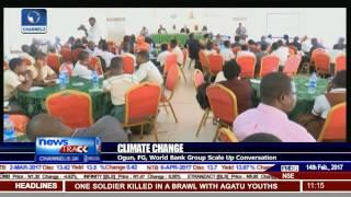 FG, World Bank Brainstorm On Climate Change Mitigation