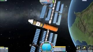 Let's Play KSP - Part 13 Ion engine.