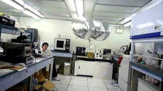 Indoor Blimp with Ionic Propulsion with Vision-Based Navigation System Payload