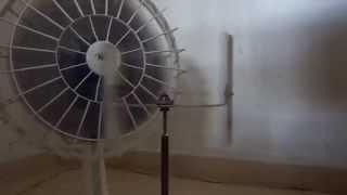 wind turbine vawt darrieus prototipe