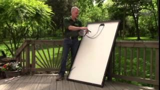 Electrical Demo of Enphase Microinverter Connections