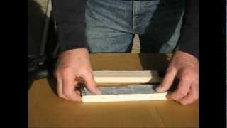 Metal Casting at Home Part 27 Core Box making with Plaster of Paris