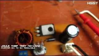 Joule Thief -  Inverter 1.5V to 12V [ regulable ]