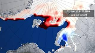 Cyclone Powered By Warm Winter Causes 'Size of Florida' Arctic Ice Melt | Video