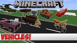 Minecraft Plugin Tutorial - Vehicles (Planes, Trains, Cars, Tanks and More!)
