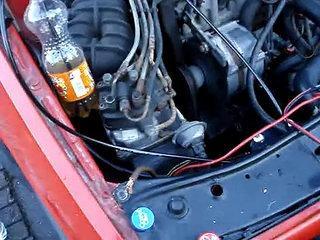 mijn eerste rvs hho generator in de auto 2