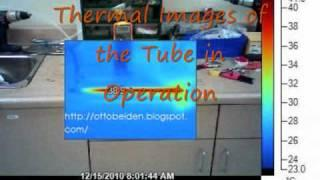 How To Make: Vortex Cooling Tube / Thermal Images .wmv