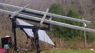 The 2nd 1kw Solar tracker DIY from scrap.