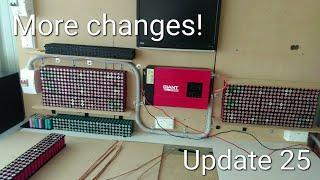DIY Tesla Powerwall | More Changes | Update 25