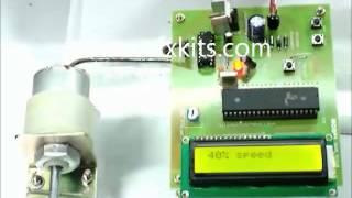 PWM based Speed Control for DC Motor