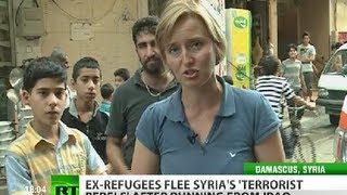 Grass Greener No More: Ex-refugees flee Syria for home