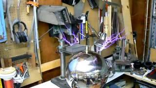 Ion Propulsion with a Tesla Coil