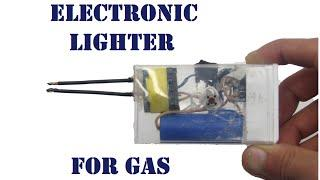 How to do an electronic arc lighter with own hands