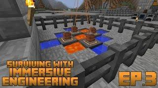 Surviving With Immersive Engineering :: Ep.3 - Thermoelectric Generator Setup