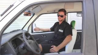 EV West Neighborhood Electric Van Conversion NEV Vehicle Walkthrough