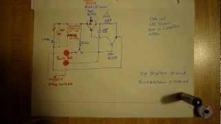 One coil LED oscillator circuit very bright 3 watts LED on 1.5 volts
