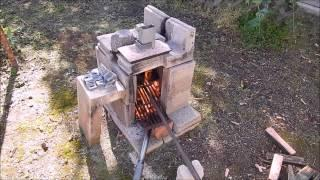 Another backyard aluminium casting video