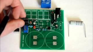 The Super Capacitor Battery Charger DIY Electronics Kit With On Board Capacitor Bank