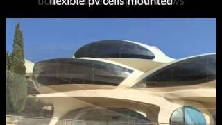 Elegant Futuristic House by Architect Pavie