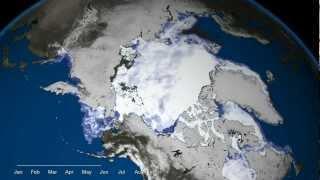 Vanishing Arctic Ice Cap