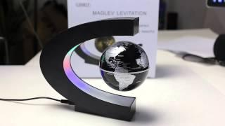 C Shape Magnetic Levitation Floating Globe World Map from GearBest.com