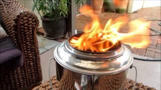 3 Billy Can Gasifier Stove