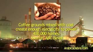 Coffee as biofuel