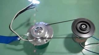 HDD motor generator