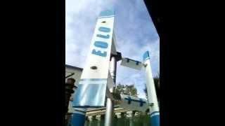 E1K - Vertical axis Wind  Turbine Generator 1KW hybrid Darrieus Savonius EOLO 1000