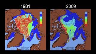 A Climate Minute - Arctic Ice Melt